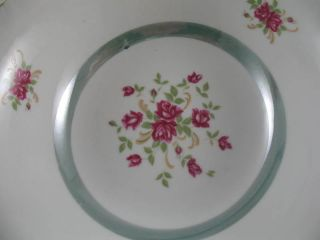 Vintage 9 Round Luster Iridescent Serving Bowl Japan