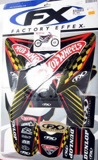 Honda CRF50 Hotwheels Hot Wheels Factory Effex Graphics Kit 2004 2011