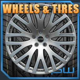 inch GLK Class Mercedes Benz SUV Silver Wheels Rims Plus Tires