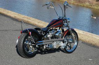 DNA 2 Under 20 Chrome 41mm Wide Glide Front End Complete Harley