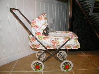 RARE 1980 Strawberry Shortcake Doll Stroller Buggy American Greetings