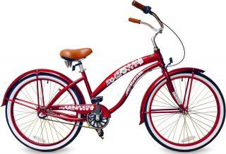 26 3 Speed Beach Cruiser Bicycle Bike BC 306PL