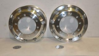 of 2 Alcoa GA896520DB Heavy Duty Commercial Truck Wheel Rims 22.5 x 9