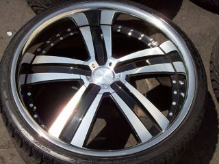 22 BMW Wheels Tires 7 Series 740 745 750 Ace Deluxe Rims Nexen Lexani