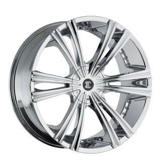 26 Chrome Wheels Tires 6x139 Chevy GMC Nissan Escalade Titan Armada