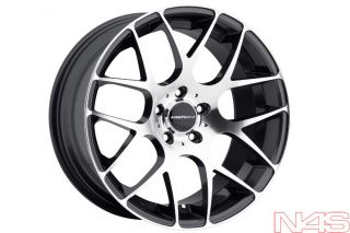 C6 A6 D3 A8 Avant Garde Mesh Gunmetal Staggered Wheels Rims