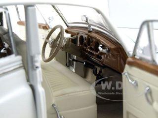 1955 Rolls Royce Silver Cloud White 1 24 Franklin Mint