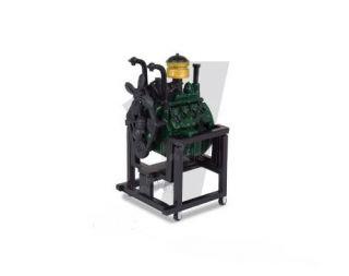 PTX Mini Engine Ford V8 Flat Head Engine 1 24 G Scale Green 28001M