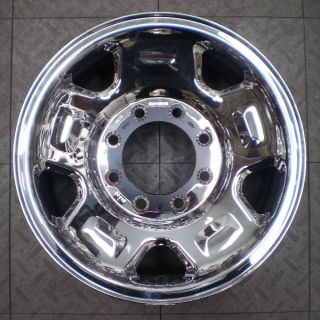3620 Ford F250 F350 17 Factory OE Steel Chrome Wheel Rim