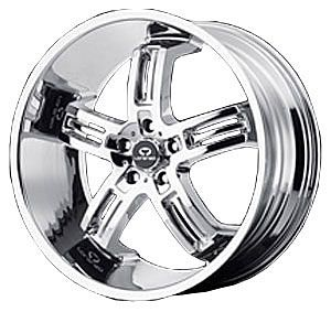 American Racing 2628556235 Lorenzo Series WL26 Chrome Wheel