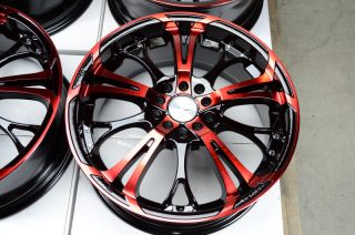 Red Wheels ES300 ES330 Lexus Sorento Eclipse Civic RSX MR2 Rims