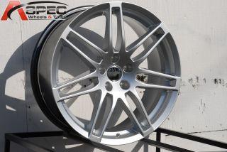 18 RS4 Style Silver Wheel Fit Audi A4 B4 B5 B6 A5 A6 A7 A8 S4 S5 Q5