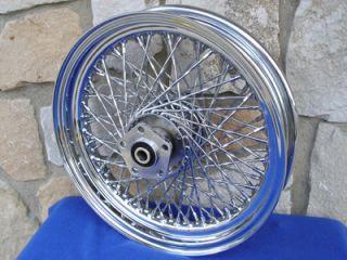 16x3 80 Twisted Spoke Wheel for Harley Sportster FX FL Dyna Softail