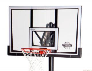 Lifetime 90061 52 Portable Basketball System Hoop Goal