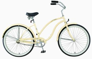 26 Beach Cruiser Bicycle Bike Firmstrong Diva Vanilla