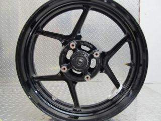 2009 Kawasaki EX650C EX650 Ninja 650R Rear Wheel Rim