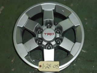 2009 2010 2011 2012 TOYOTA FJ CRUISER TRD 16 FACTORY ALLOY RIM WHEEL
