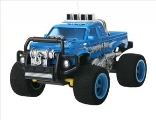 New 4 Channel Remote Control Off Road Car with Blue Light Buggies Toy