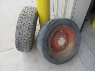 of International Harvester 340 Utility Tractor Front Tires and Rims