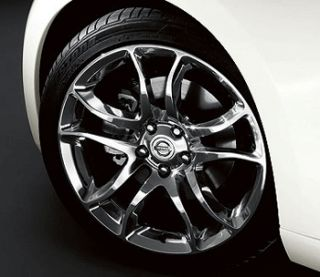 2009 2010 2011 Nissan 370Z Wheels Polished Forged Front 19x9 0
