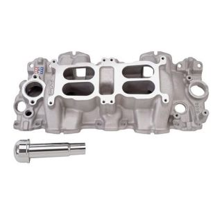 Performer RPM Large Port Chevy 348/409 W Dual Quad Intake Manifold