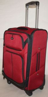 NEW Samsonite RED 24 Upright Spinner Wheels Luggage Carry On Travel