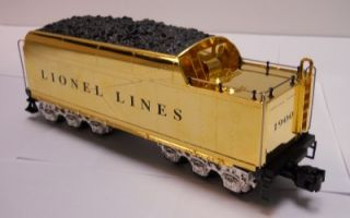 Lionel 24KT Gold 100th Anniversary 700E Hudson Locomotive with Tender