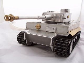 16 Scale Metal Tiger I Data Sheet RC Tank Metal Tank