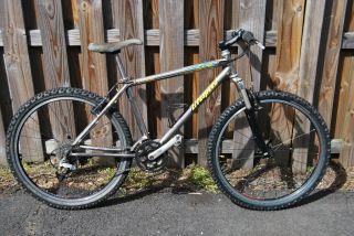Litespeed Ocoee Titanium Mountain Bike Bicycle 1996 17 26 x 2 1 Tires