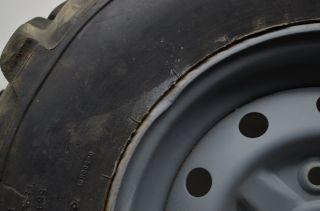 02 Suzuki Eiger 400 4x4 Front Rear Wheels Rims Tires LTA400F