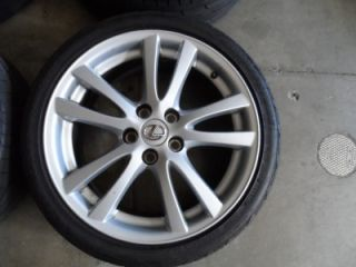 18 OEM Lexus IS250 IS350 SC Wheels with Tires Super Clean