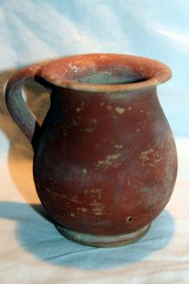 Ancient Roman Pottery Redware Cup 3 4th Century Ad