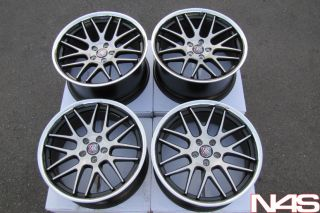20 LEXUS GS350 GS450 GS460 RODERICK RW6 CONCAVE STAGGERED WHEELS RIMS