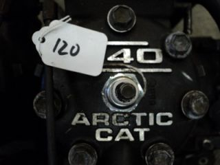 2001 Arctic Cat 440 Sno Pro 2002 Motor Complete Engine