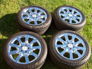 18 Mercedes Wheels All Season Tires s CL Class S500 S550 CL500 S430