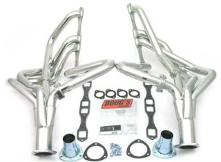 Dougs Headers Full Length Silver Ceramic Coated 2 Primaries D440