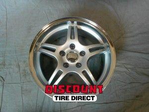 Used 16x7 5x108 5 108 MG3 Silver Machined Lip Wheels Rims