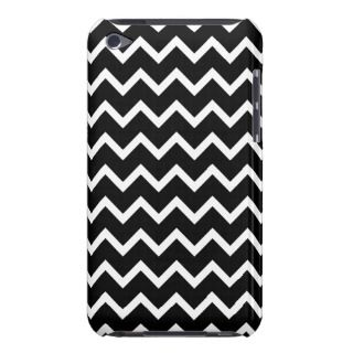 Black and White Zig Zag Pattern. Case Mate iPod Touch Case