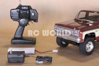 RC 1 10 Tamiya Chevy Blazer RC Truck Ready to Run RTR