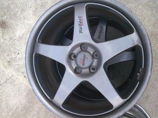 WORK scf ROZEST SS 01 SUBARU WRX RIMS Wheel Rim OEM Impreza Legacy STI