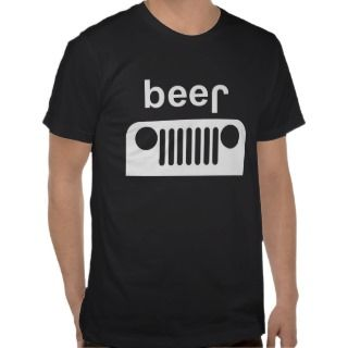 Jeep and Beer 4x4 T shirt