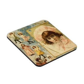 Vintage Performing Arts Poster Little Queen Mab Coasters
