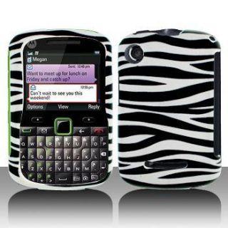 Zebra Phone Cover Hard Case for Motorola Grasp WX404