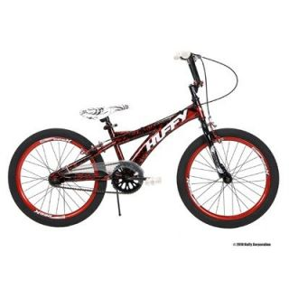 NEW Huffy 20 Inch Boys Spectre Bike BMX Burst Red on Black FAST FREE S
