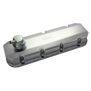 Fabricated Aluminum Valve Covers 68357 Chevy BBC 396 427 454 Natural