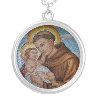 Saint Anthony   santAntonio   Hl. Antonius   Jewelry