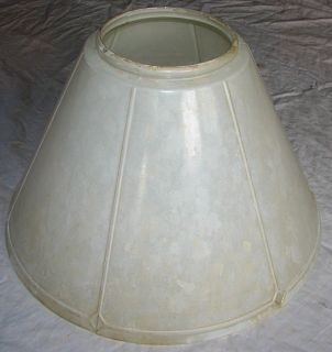 Old Vtg Aladdin Alacite 716 Glass Lamp Shade