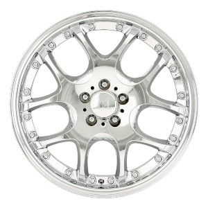 Leonardo Chrome Wheels Rims 5x112 R Class CLK 550 CLK 430 Jetta