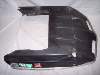 79 Scorpion Sting 440 Snowmobile Front Bumper Belly Pan