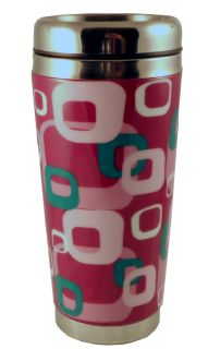 Ceramic and Stainless Steel Travel Mug Red by BIOS H2O